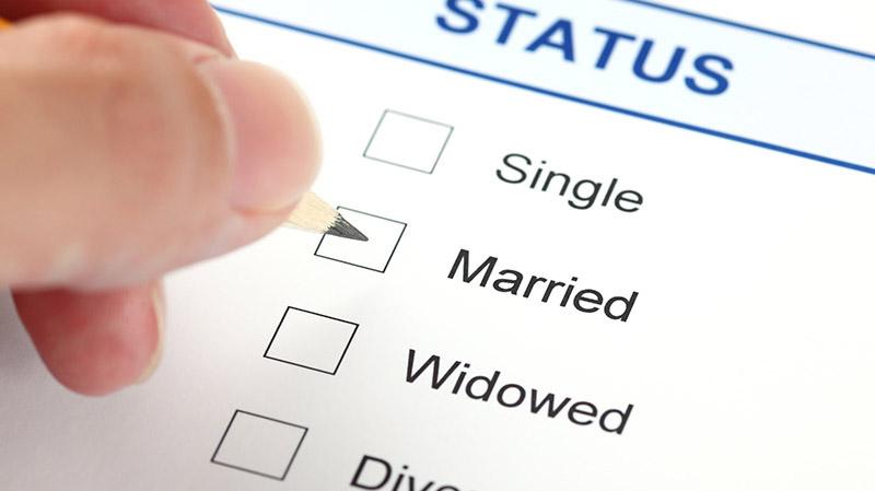 đăng ký xác nhận độc thân